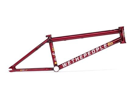 "We The People Buck Frame - Translucent Red - 20.75"" TT"